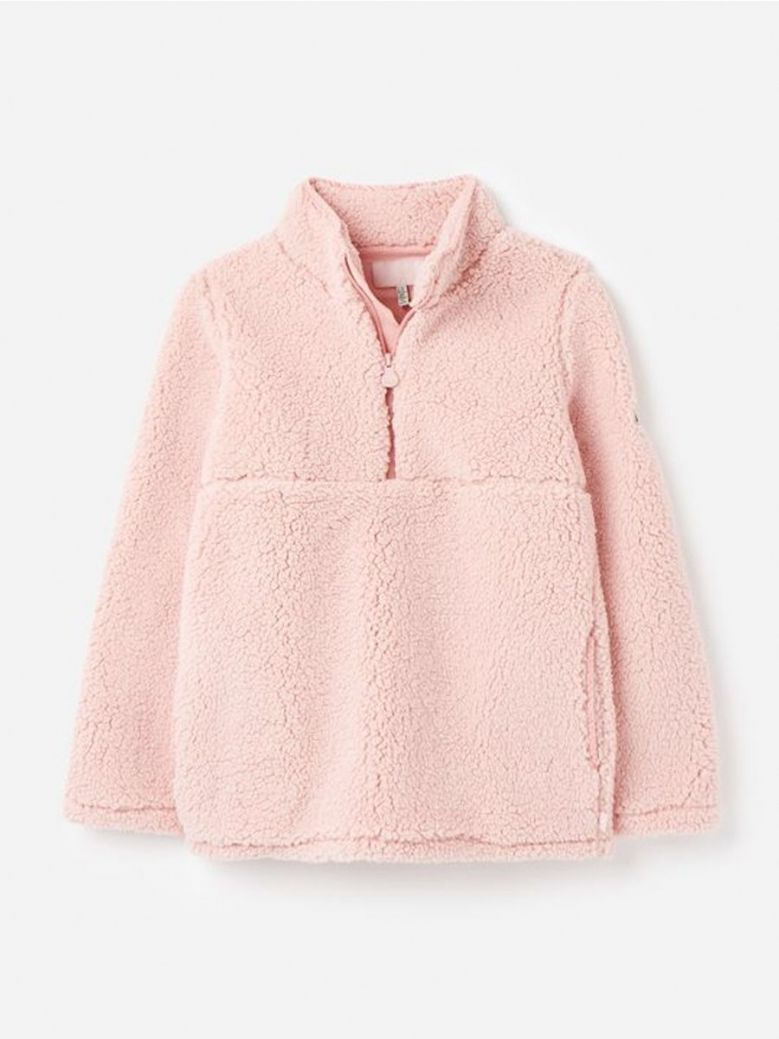 Joules Poppie Teddy Fleece Pink