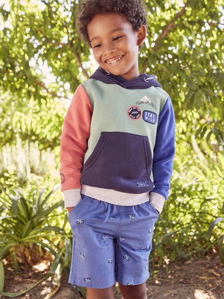 Joules Lucas Hooded Sweatshirt Multi-Coloured