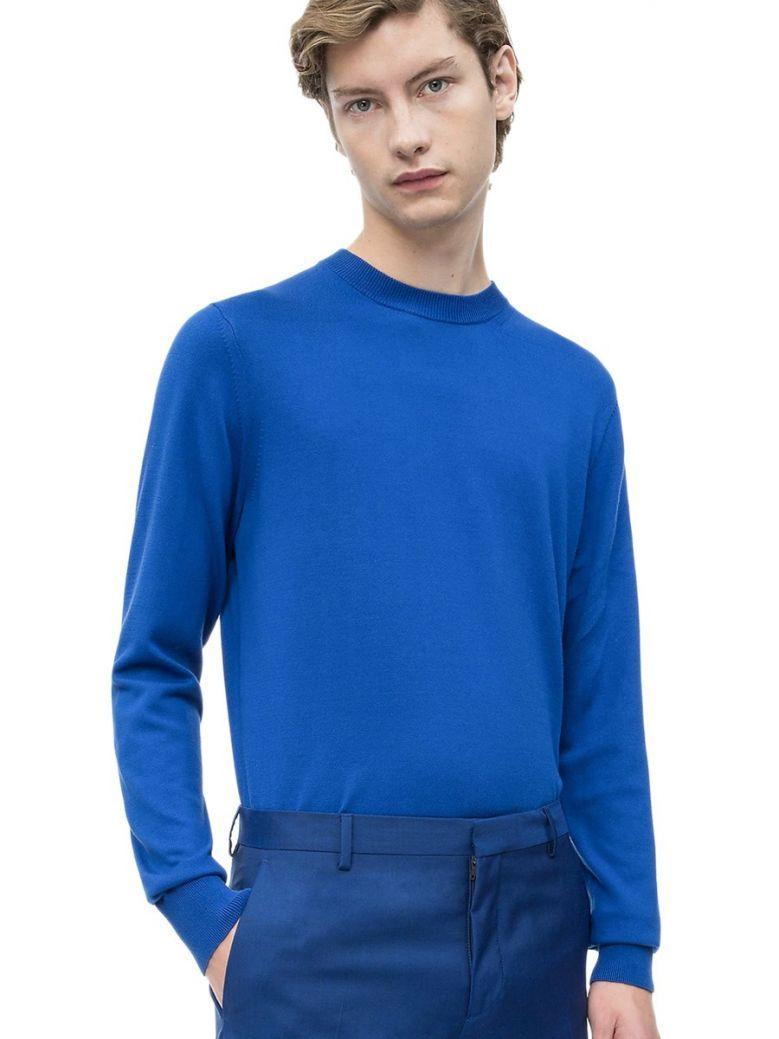 Calvin Klein Blue Premium Cotton Jumper