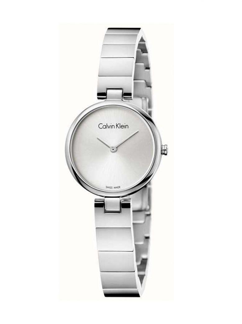 Calvin Klein Ladies Authentic Stainless Steel Bracelet Watch