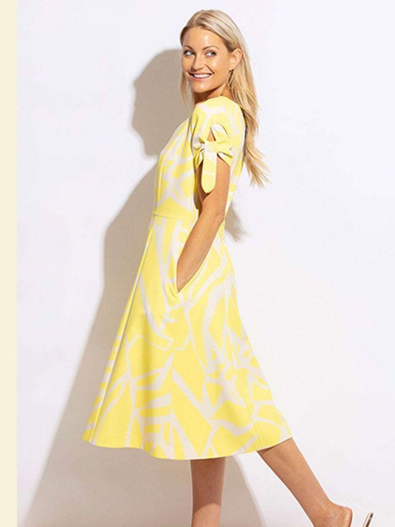 Kate Cooper Swing Dress Yellow