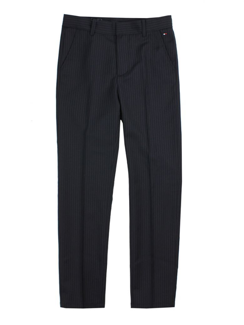 Tommy Hilfiger Kids Navy Pinstripe Trousers
