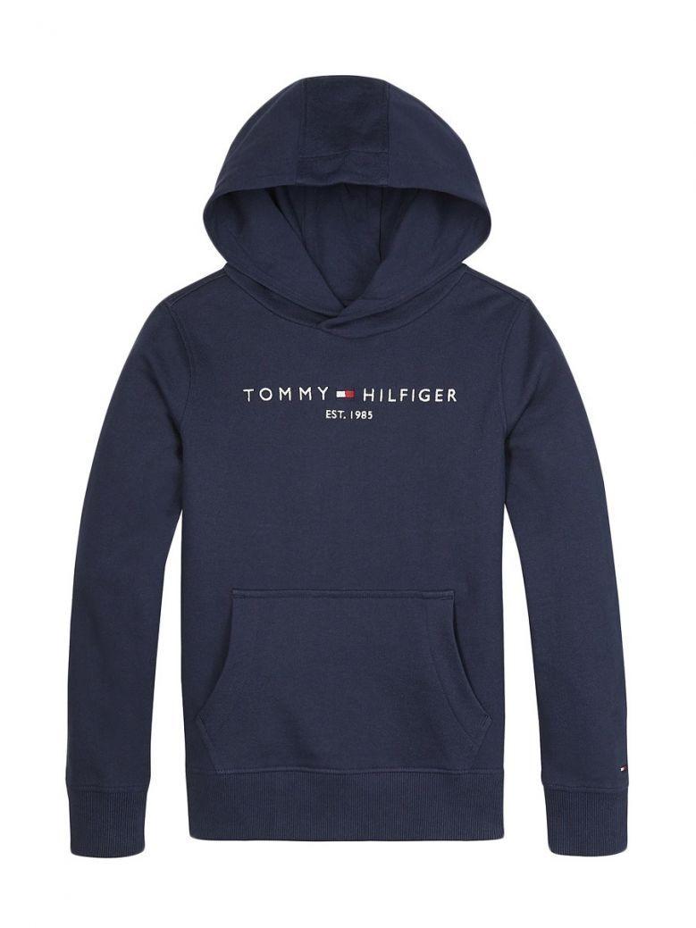 Tommy Hilfiger Essential Logo Hoodie Navy