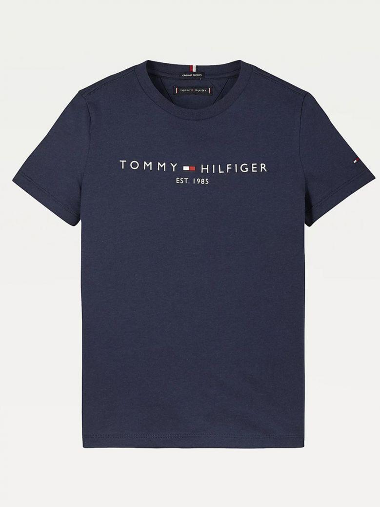 Tommy Hilfiger Essential 1985 Logo T-Shirt Navy