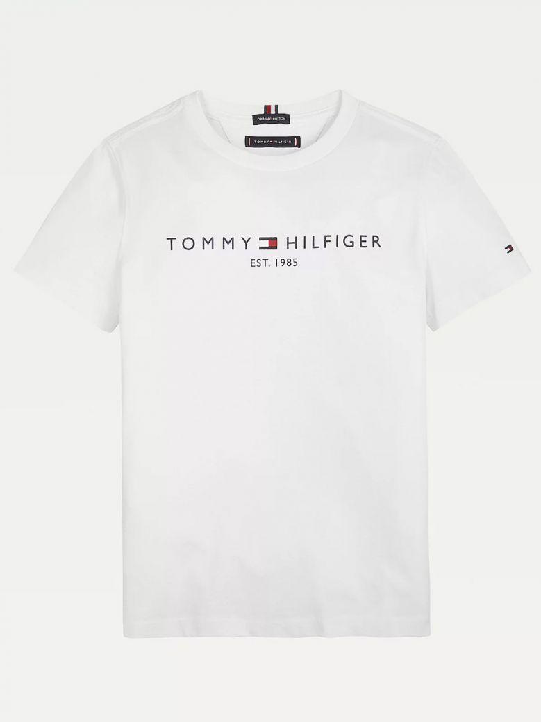 Tommy Hilfiger Essential 1985 Logo T-Shirt White