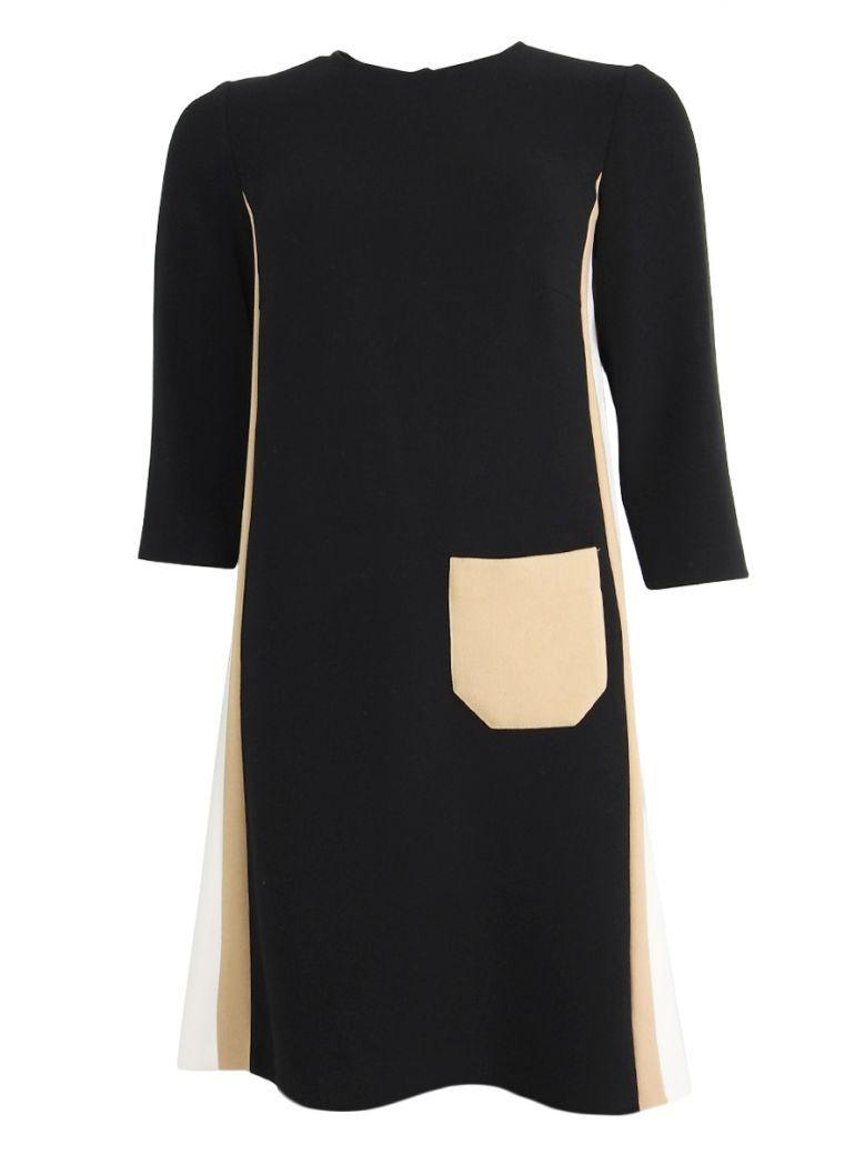 Kate Cooper Black Contrast Dress