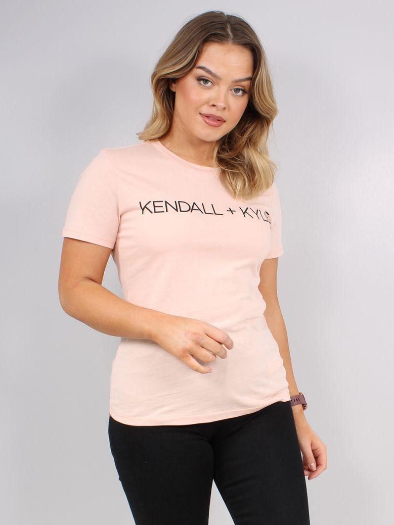 Kendall + Kylie Pink Blush Logo T-Shirt