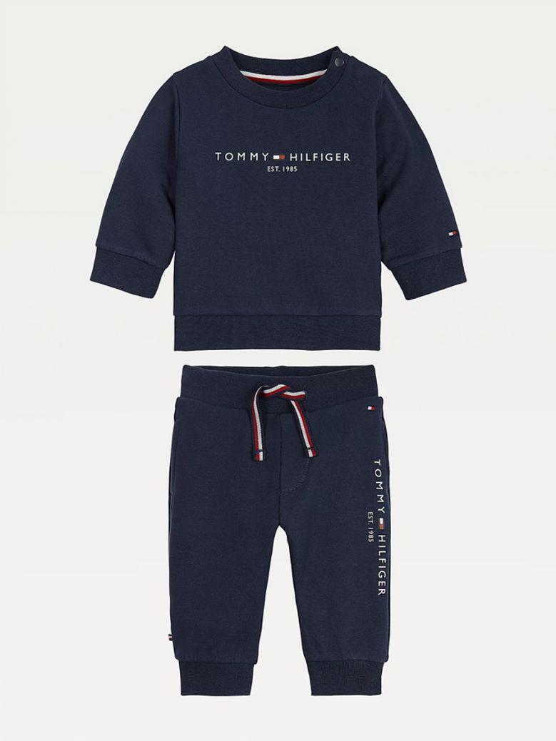 Tommy Hilfiger Kids Twilight Navy Essential Tracksuit Set