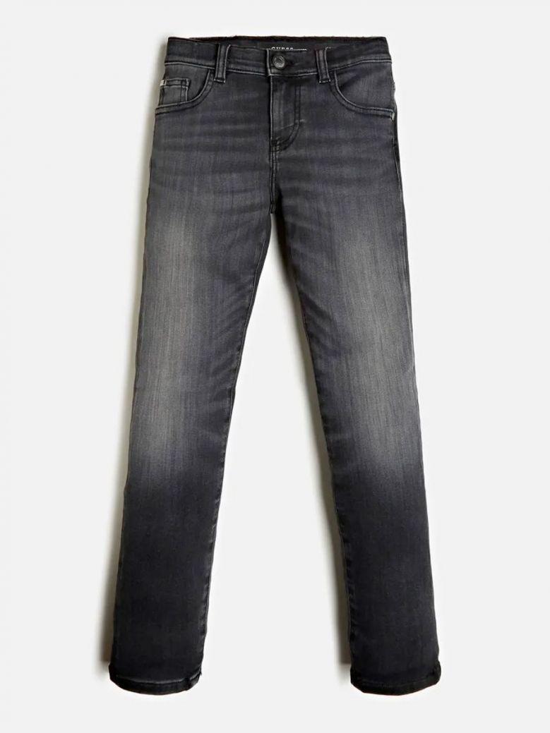Guess Kids Black Skinny Fit Denim Jeans