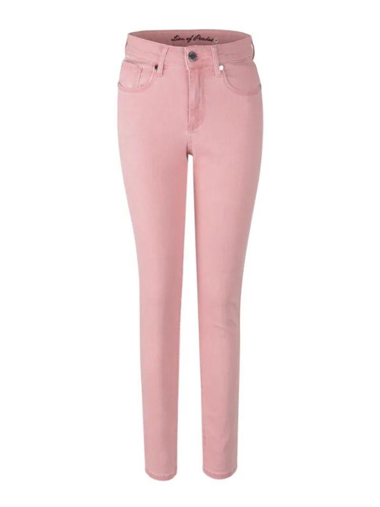 Lion of Porches Blush Pink 5 Pocket Jeans