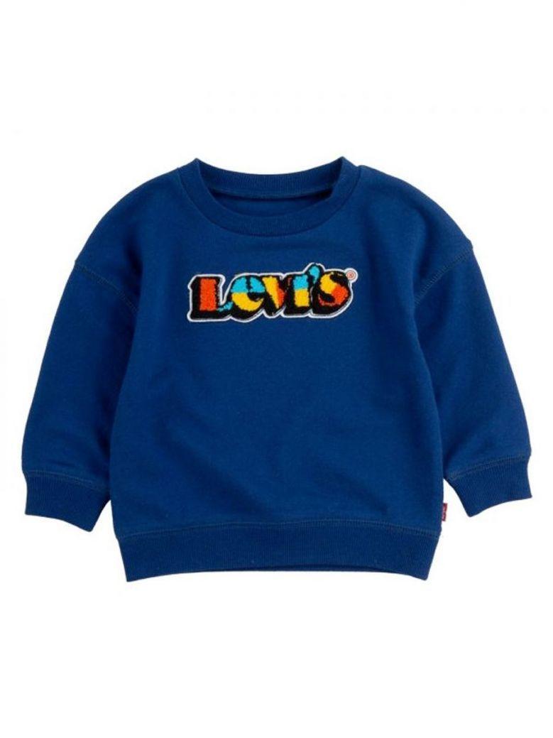 Levi's Baby Crew Neck Jumper Blue