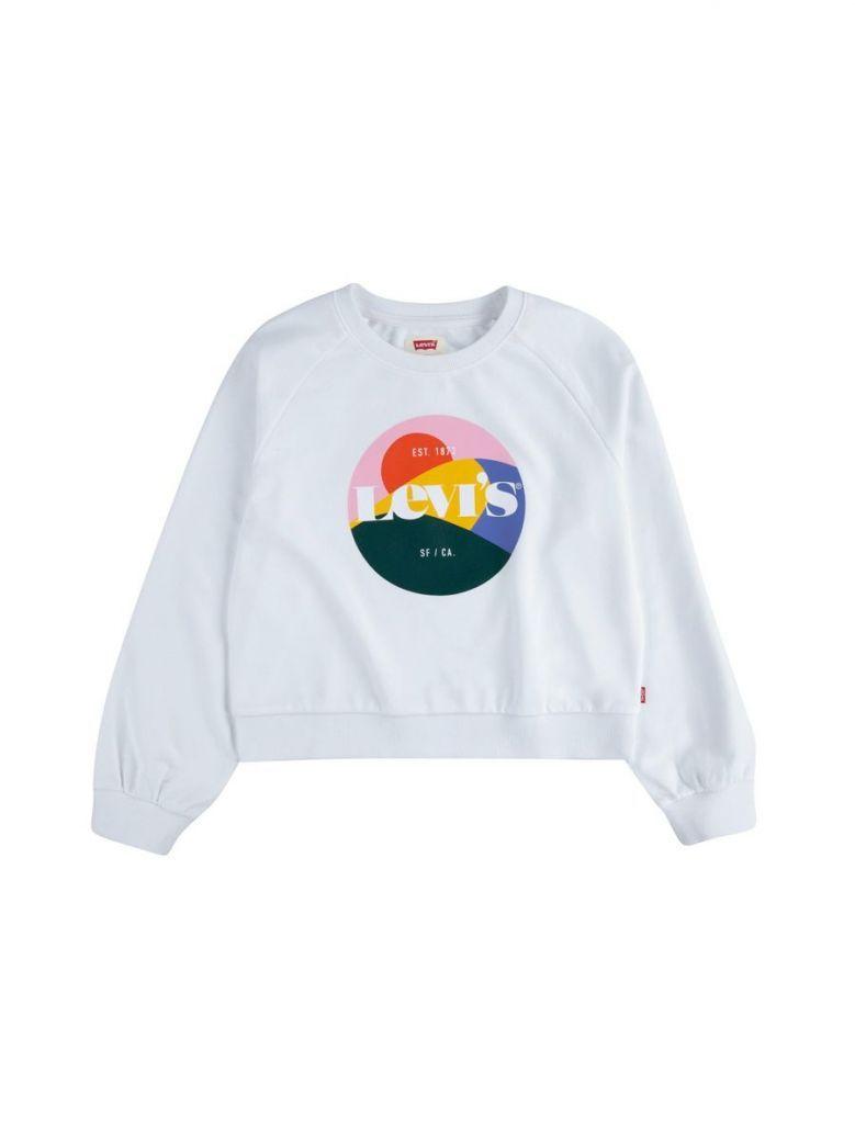 Levi's Teenager High Rise Sweatshirt White