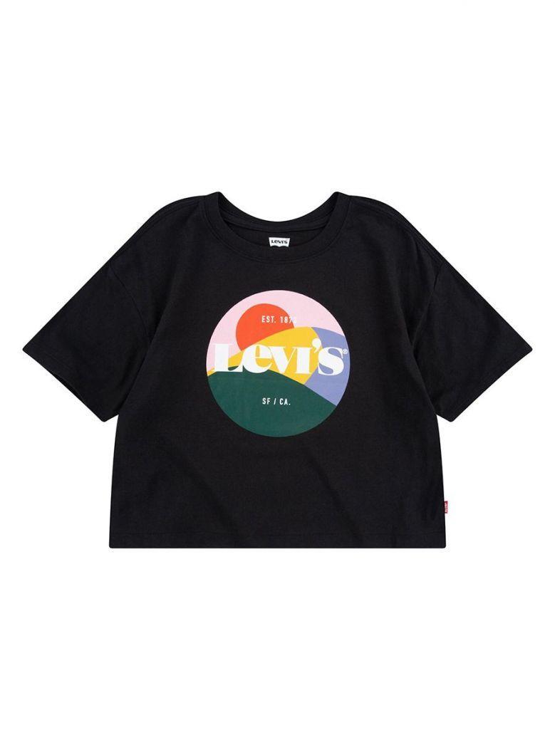 Levi's Teenager High Rise T-Shirt Black