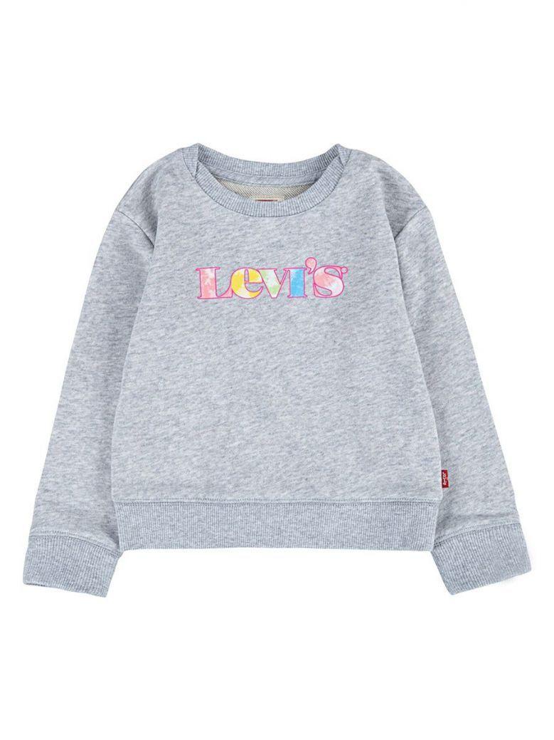 Levi's Teenager Graphic Crew Sweatshirt Grey
