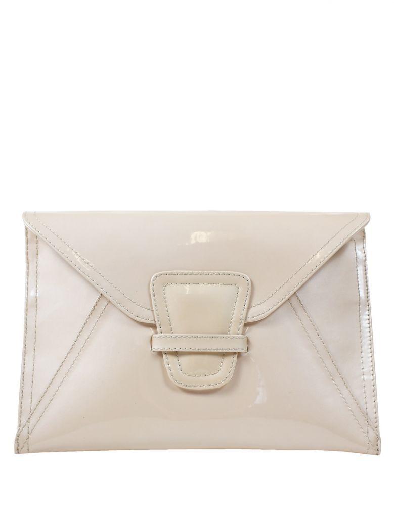 Lisa Kay Pearl Pink Patent Liberty Clutch Bag