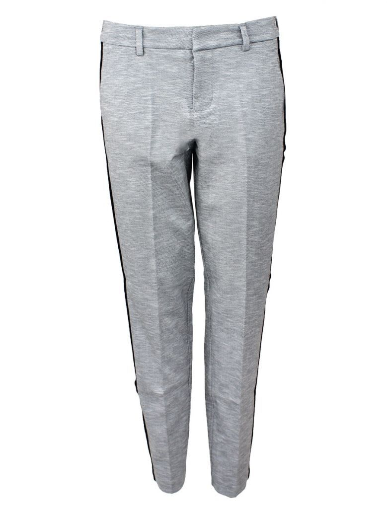 Liverpool Grey Knit Kelsey Straight Trouser