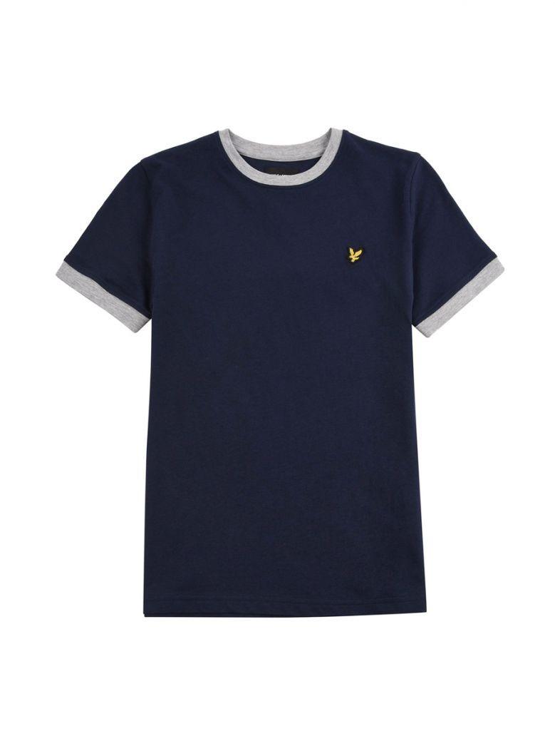 Lyle & Scott Kids Navy Ringer T-Shirt