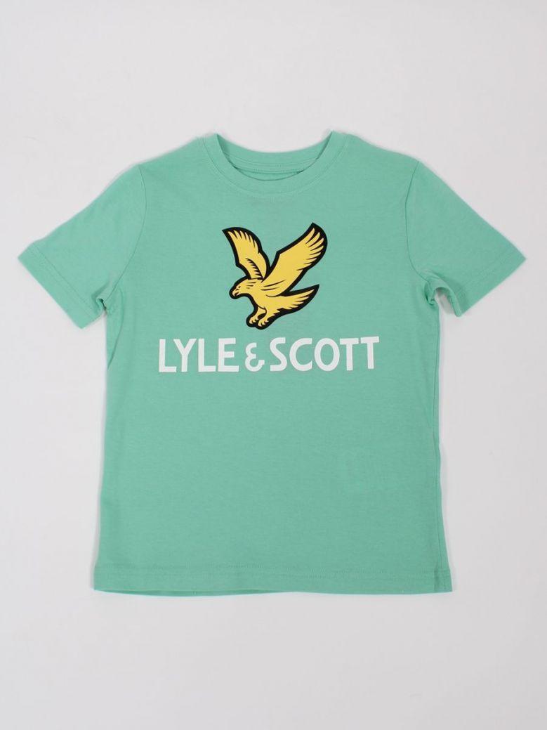 Lyle & Scott Eagle Logo T-Shirt Neptune Green