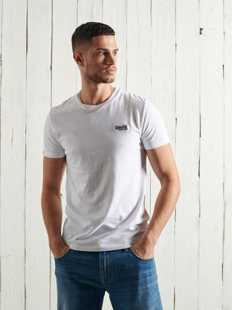 Superdry Optic Vintage Embroidery T-Shirt