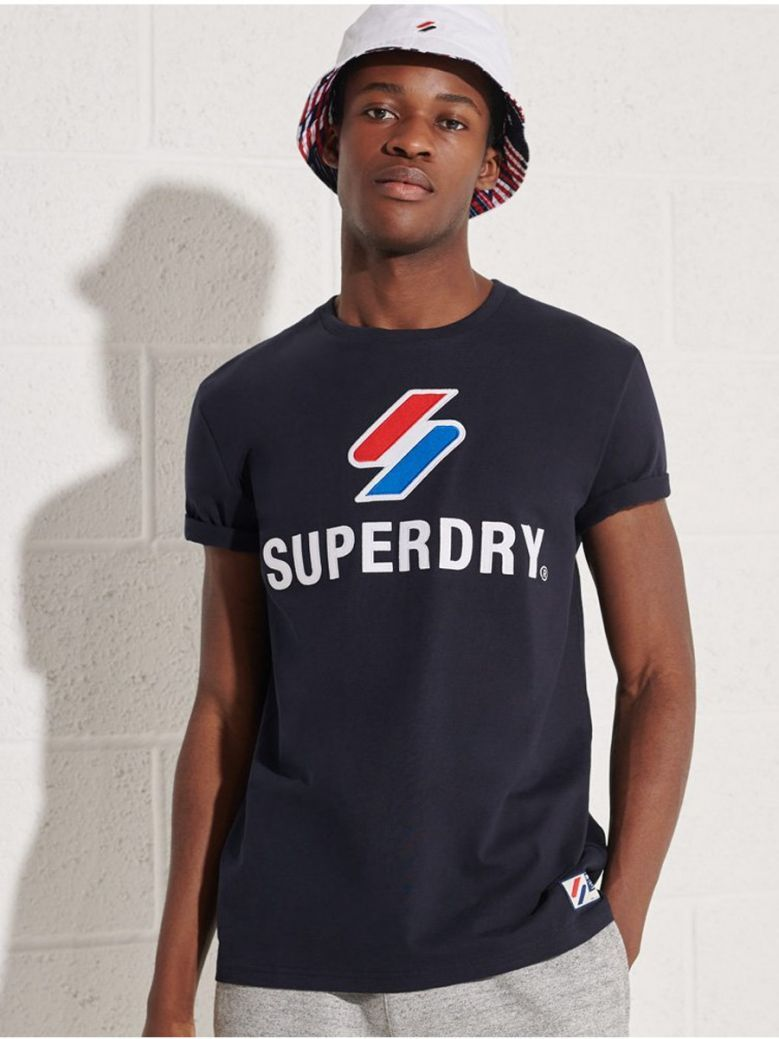 Superdry Deep Navy Sportstyle Classic T-Shirt