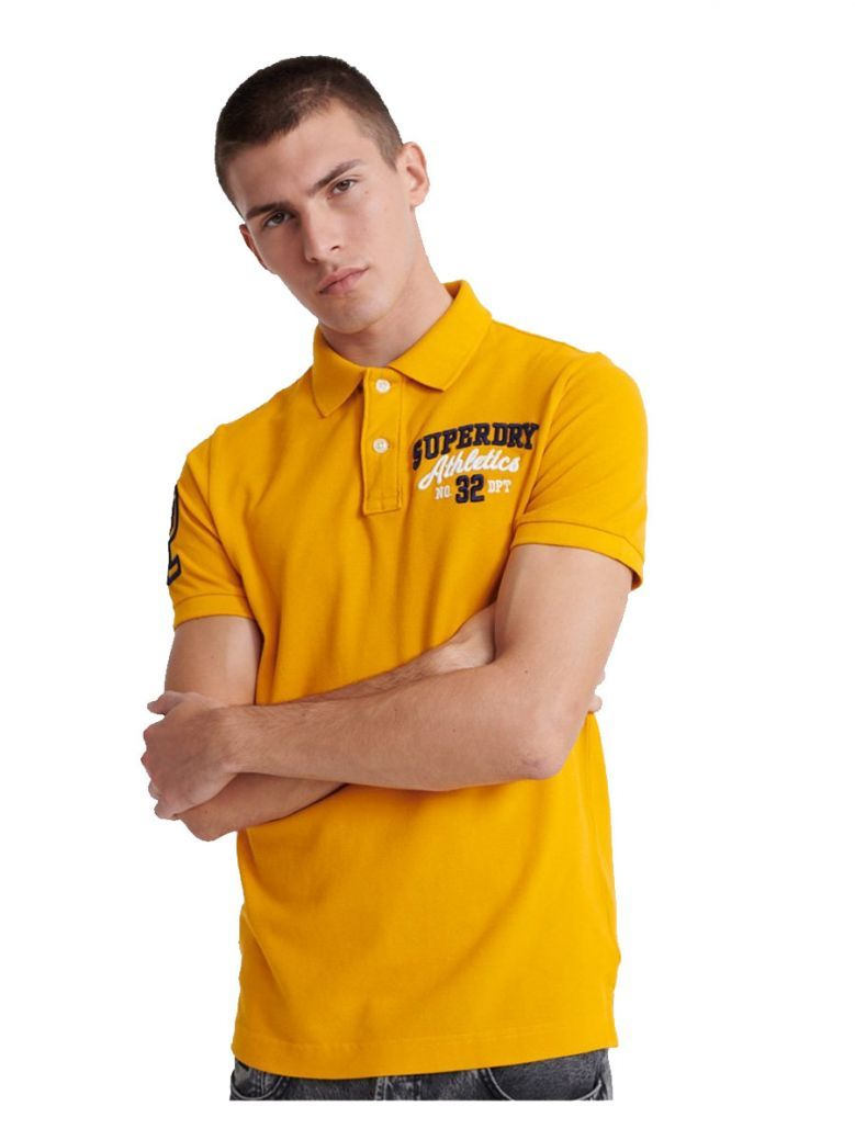 Superdry Upstate Gold Classic Superstate Polo Shirt