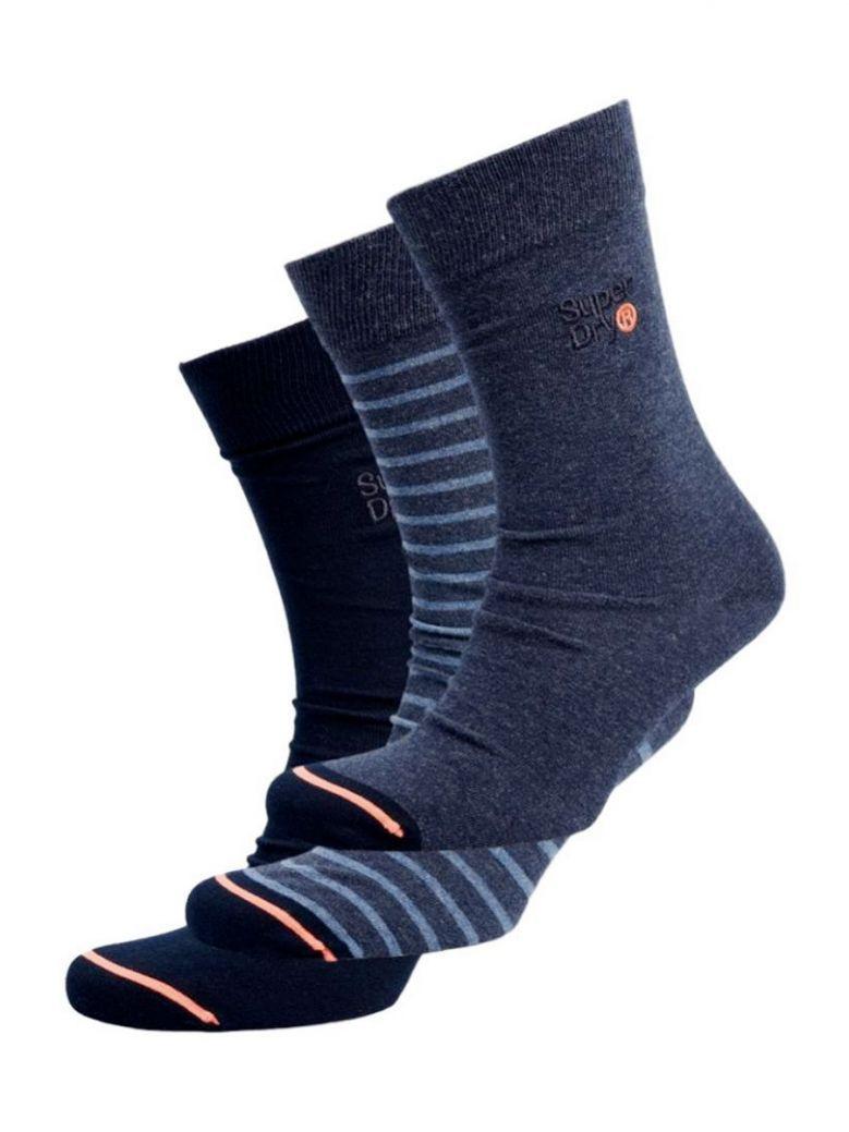 Superdry Indigo City Sock Triple Pack