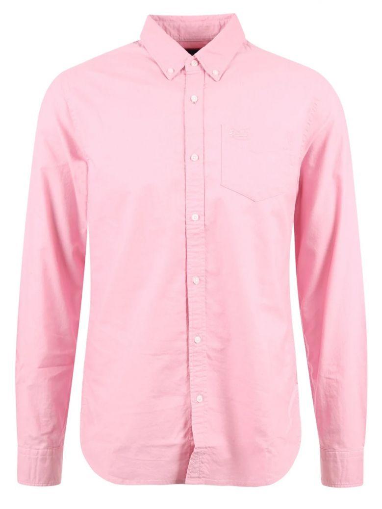 Superdry Pastel Pink Classic University Oxford Shirt