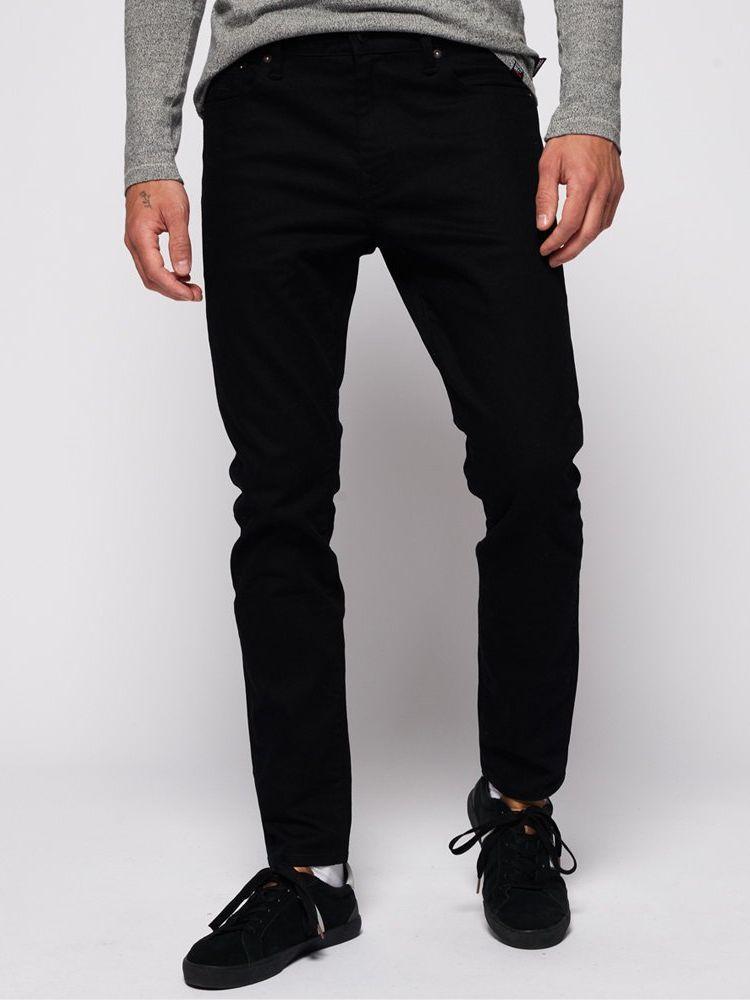 Superdry Jet Black Tyler Slim Jeans