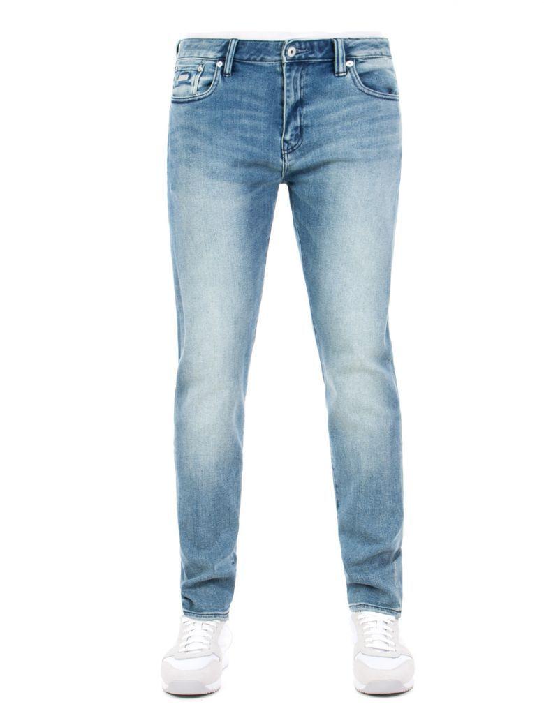Superdry Spartan Vintage Blue Tyler Slim Flex Jeans
