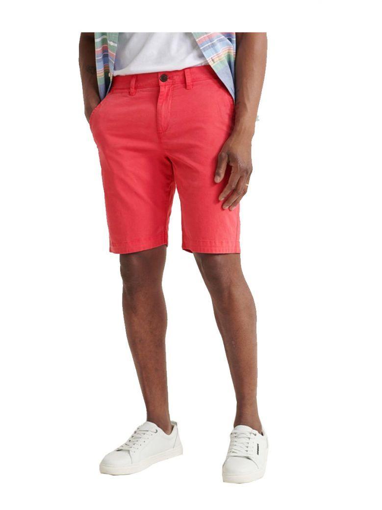 Superdry Maldive Pink International Chino Shorts