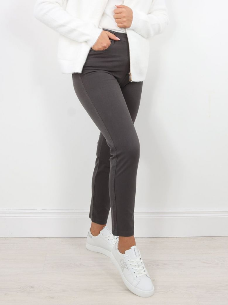 Marble Slim Fit Jeans Grey