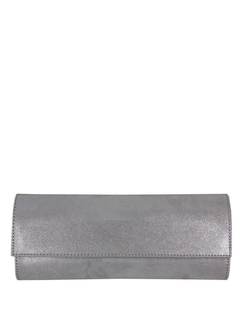 Lisa Kay Pale Grey Mary Clutch Bag