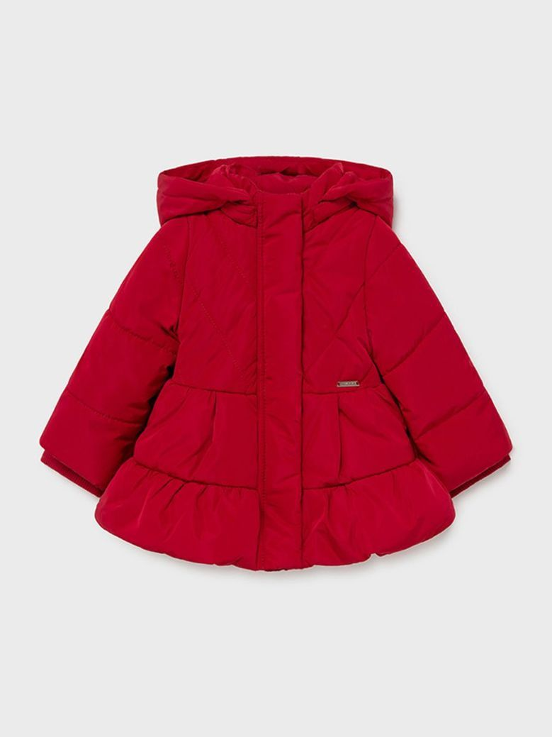 Mayoral ECOFRIENDS Coat With Hood Red