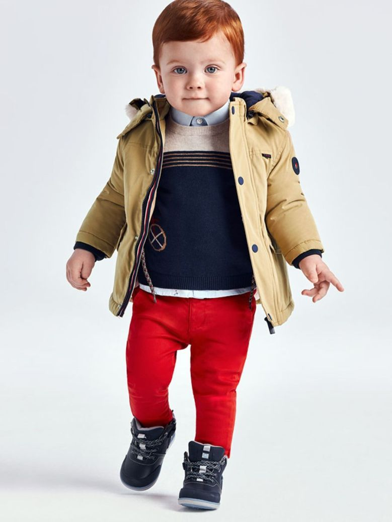 Mayoral Set Of Trousers And Jumper Red