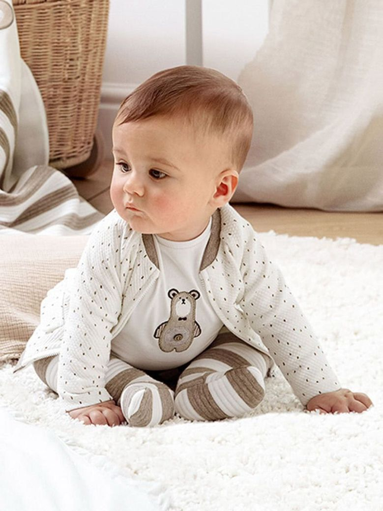 Mayoral 3 Piece Padded Tracksuit Natural
