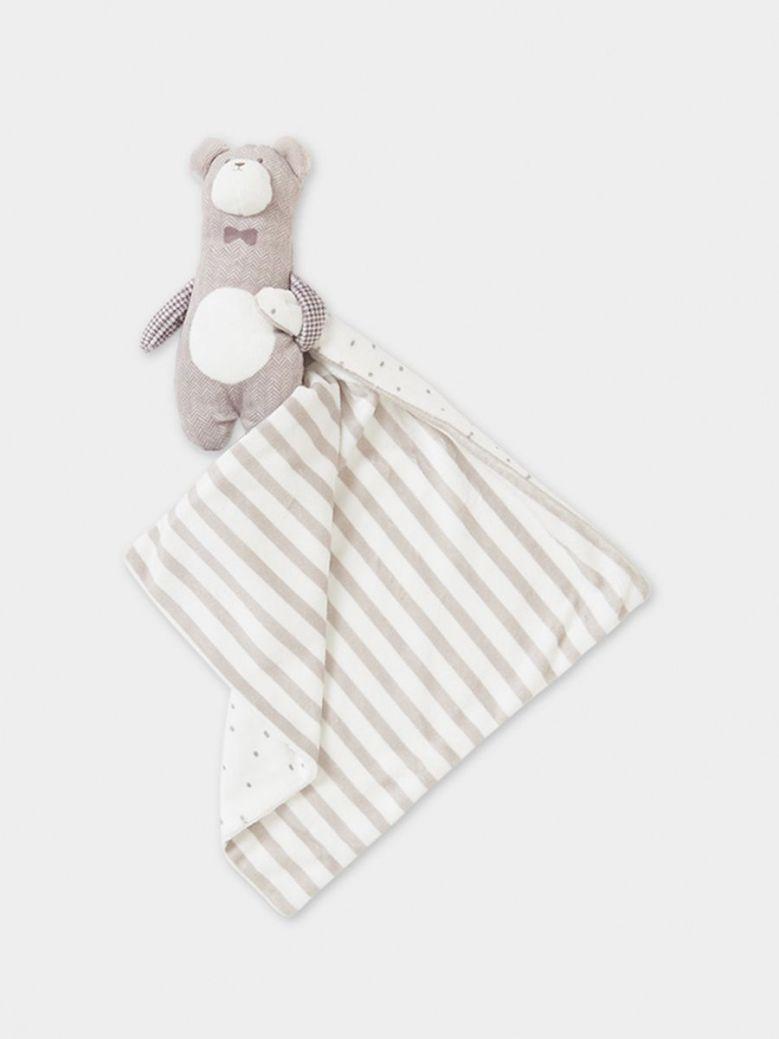 Mayoral Baby Bear Blanket Beige