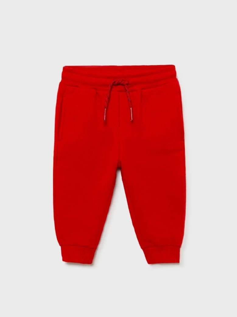 Mayoral Basic Joggers For Baby Boy Red