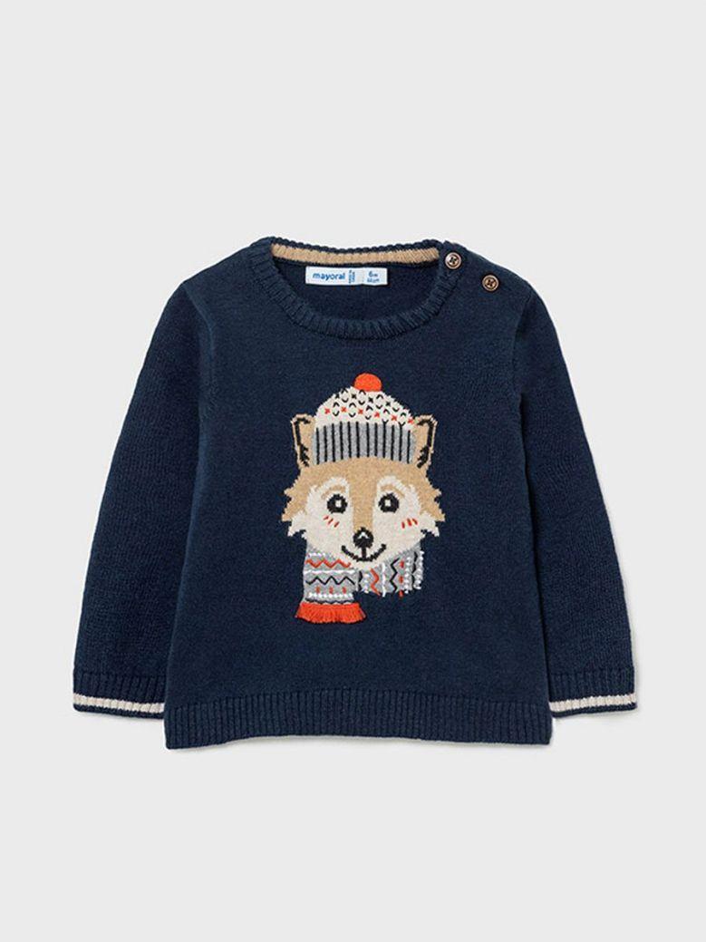 Mayoral Cosy Fox Sweater Navy