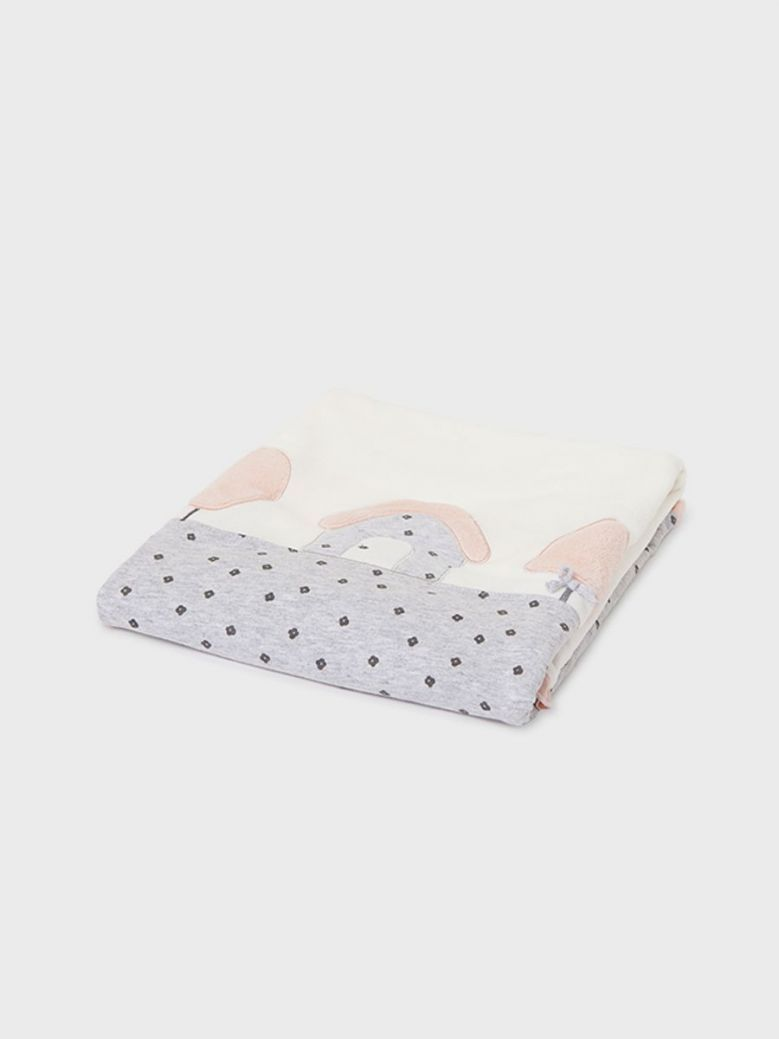 Mayoral ECOFRIENDS Comfort Blanket For Baby Cream