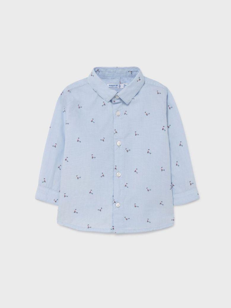Mayoral ECOFRIENDS Print Shirt Blue