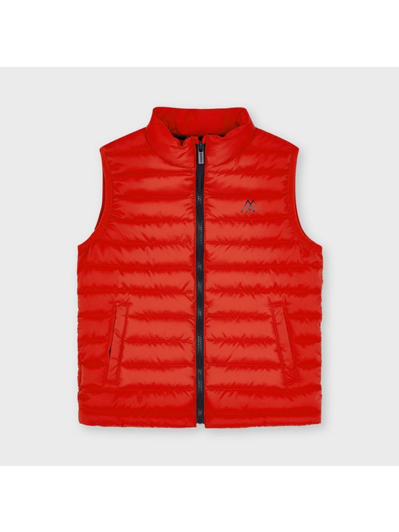 Mayoral Padded Body Warmer for Boy Red