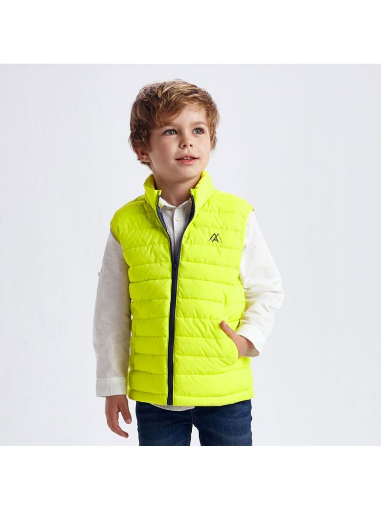 Mayoral Padded Body Warmer for Boy Yellow