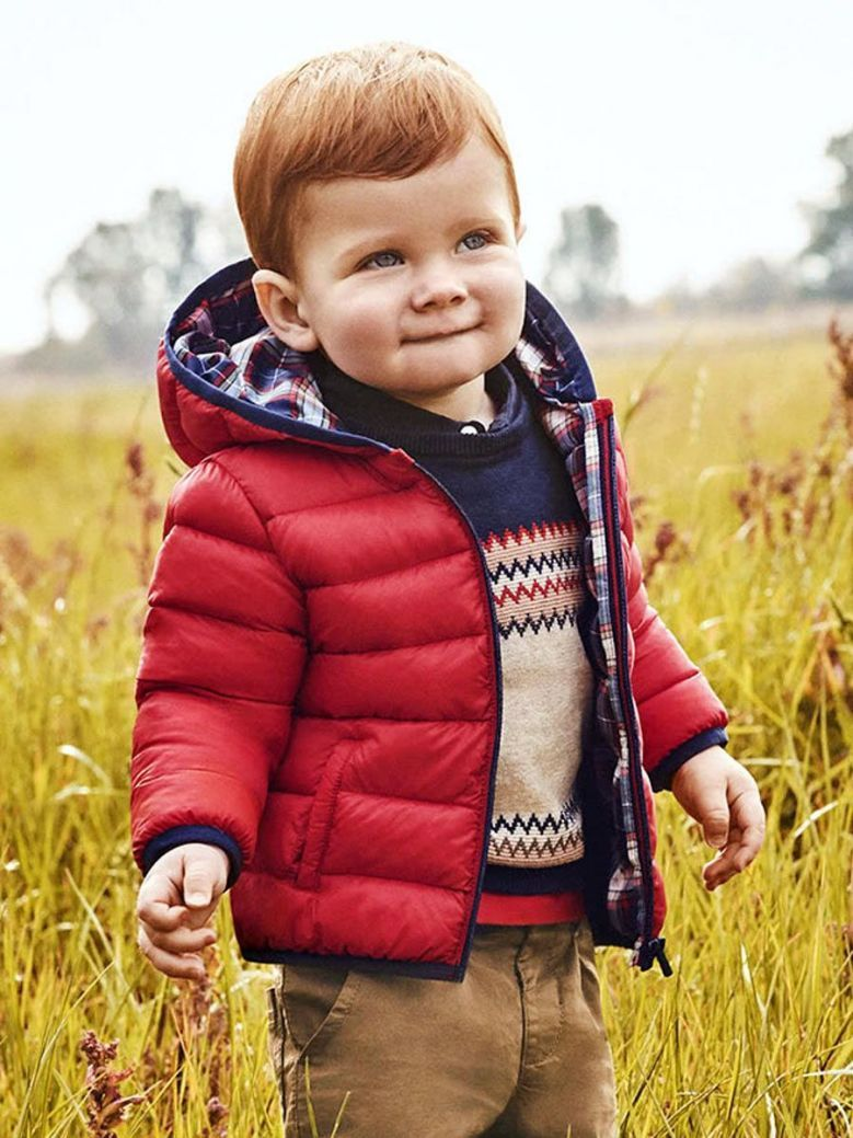 Mayoral Padded Coat For Boy Red