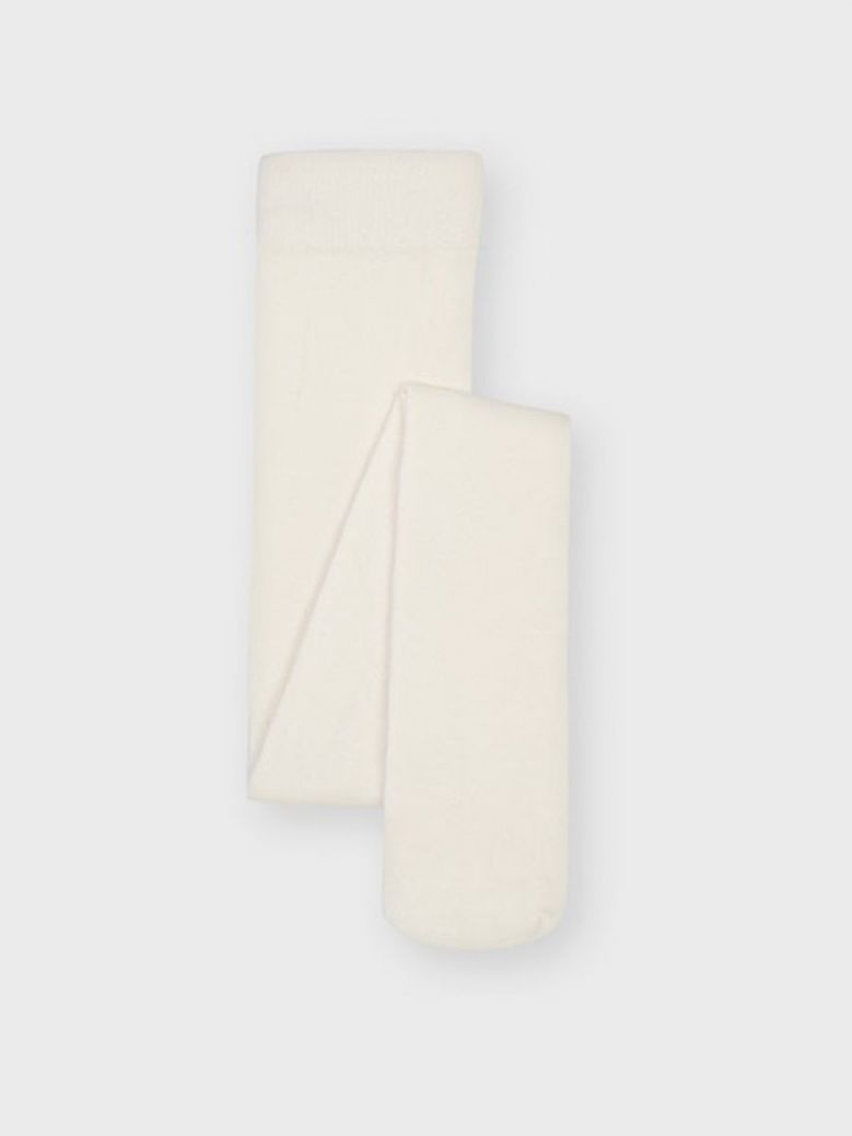 Mayoral Plain Tights Off-White