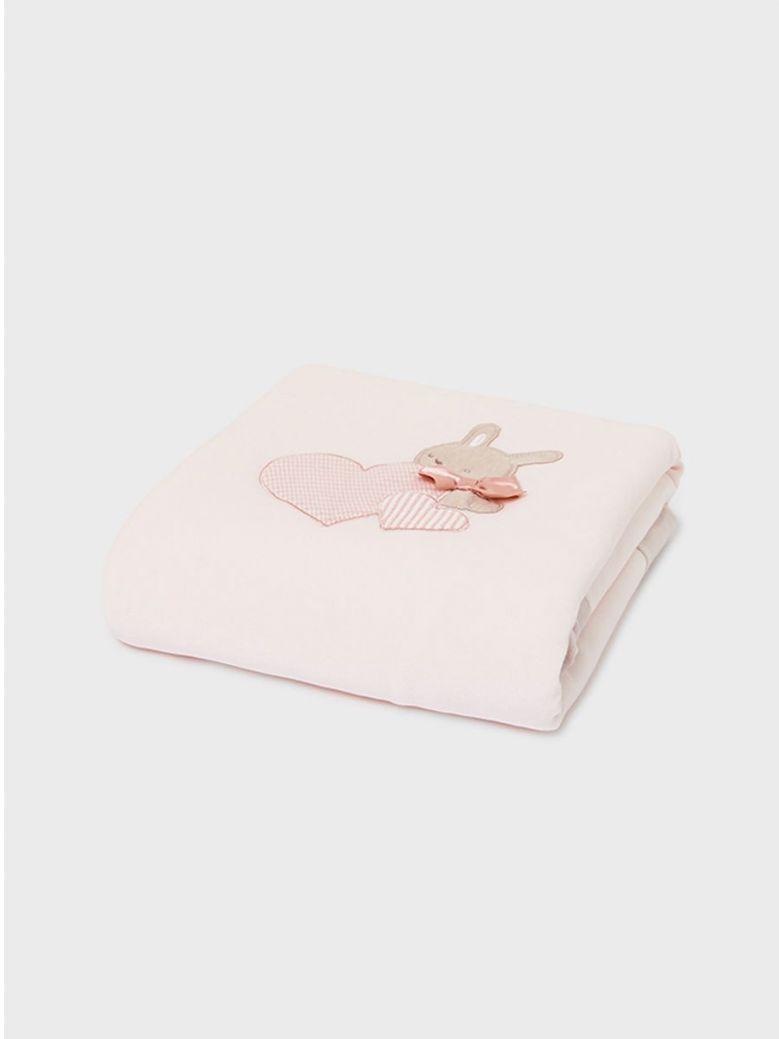 Mayoral Soft Comfort Blanket Pink