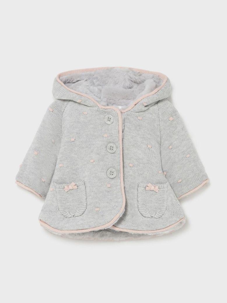 Mayoral Woven Jacket Grey