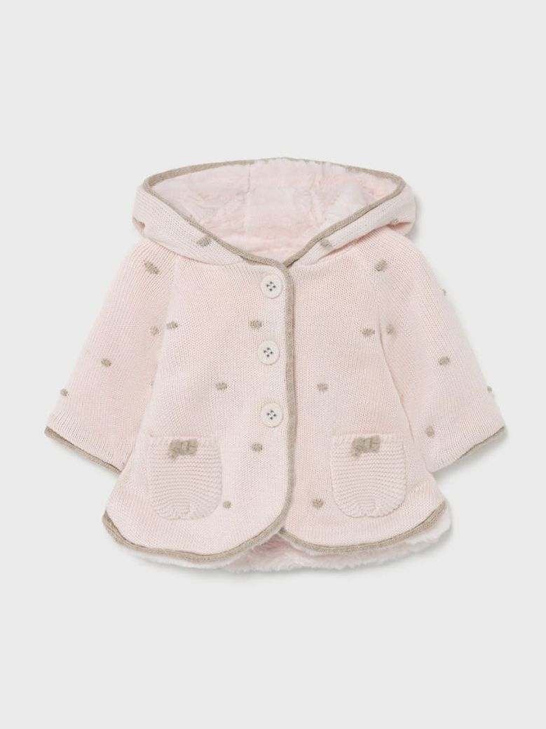 Mayoral Woven Jacket Pink