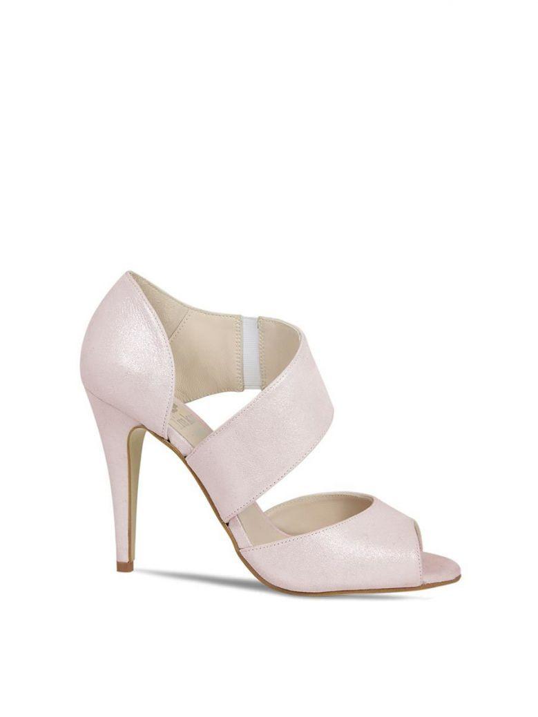 Lisa Kay Pale Pink Melania Open Toe Sandal
