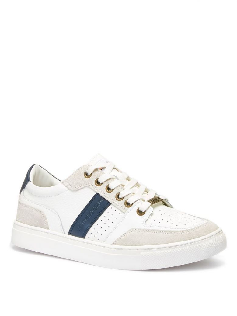 Superdry White Edit Lace-Up Trainers