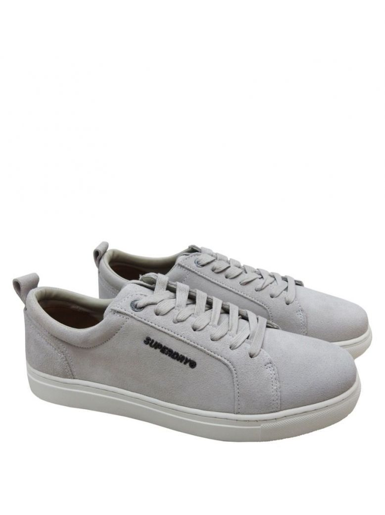 Superdry Grey Truman Premium Lace-Up Trainers